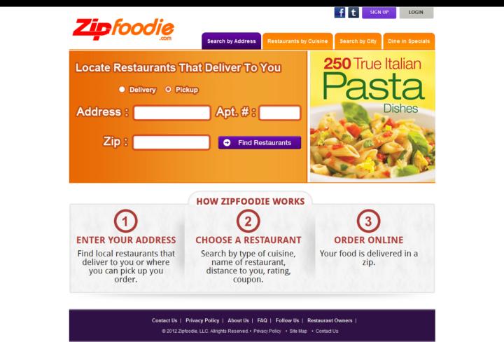 Zip foodies